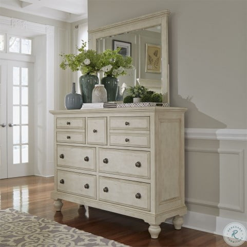 High Country White 7 Drawer Chesser by Liberty