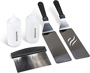 Blackstone Commercial Grade 5-Piece Griddle Cooking Toolkit #6106