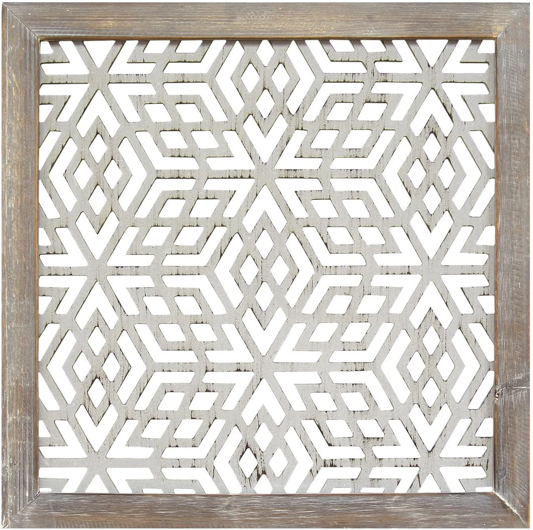 (set of 2)  Piece Framed Laser-Cut Wall Decor   #5405