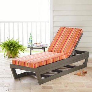 Sunbrella® Outdoor Chaise Lounge Chair Cushions ONLY #5243