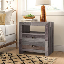 Load image into Gallery viewer, Abbey 2 Drawer Nightstand