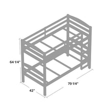 Load image into Gallery viewer, Abby Twin over Twin Bunk Bed 2304