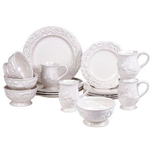 Abshire 16 Piece Dinnerware Set, Service for 4 EB3168