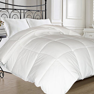 All Season Down Comforter -oversized KING  (white)  #5176
