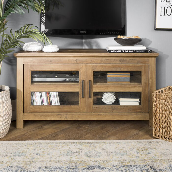 Rustic Oak Aurelio TV Stand for TVs up to 48