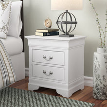 Load image into Gallery viewer, Babcock 2 Drawer Nightstand (white) #5019
