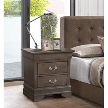 Load image into Gallery viewer, Babcock 2 Drawer Nightstand  (gray)  #5050