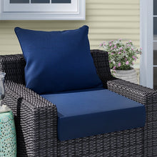 Load image into Gallery viewer, Leala Texture Outdoor Seat/Back Cushion #6182