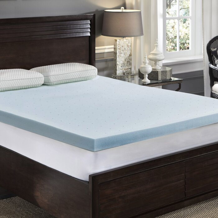 QUEEN Callan Cool Gel Foam Mattress Topper  #4164