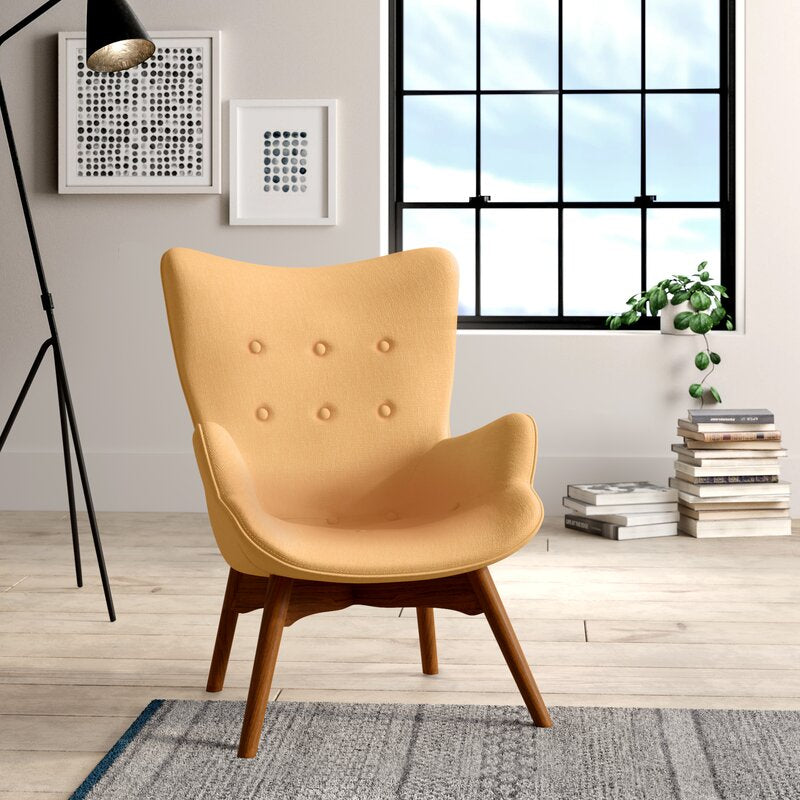 Canyon Vista Lounge Chair in Yellow #4124