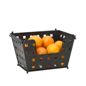 (Set of 3) Capri Fruit Metal Basket #5218