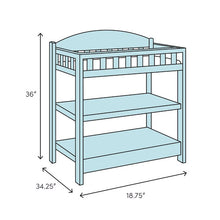 Load image into Gallery viewer, Light Gray Celeste Changing Table  #5114