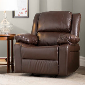 Chalfont Manual Recliner in Brown   #4323
