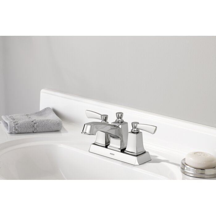 Conway Centerset Bathroom Faucet with Drain Assembly  #5208