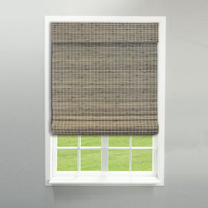 Cordless Flatweave Semi-Sheer Roman Shade  #5380