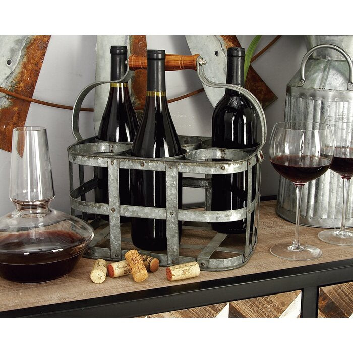 Crispin 6 Bottle Tabletop Wine Bottle Rack  #4226