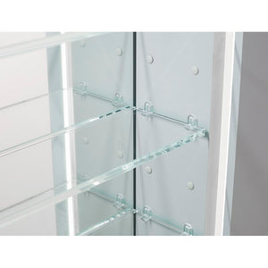 "Dili 24"" x 30"" Recessed or Surface Mount Frameless Medicine Cabinet 2014"