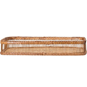 Brown Dorris Bamboo Coffee Table Tray   #4526