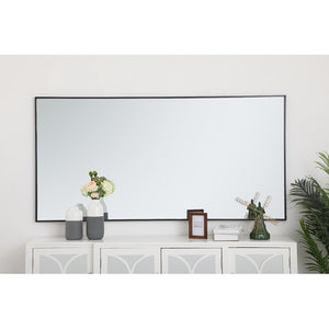 "72"" H x 36"" W Black Eternity Accent Mirror 2333"