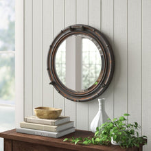 Load image into Gallery viewer, Rustic Beveled Distressed Accent Mirror  #mp3592