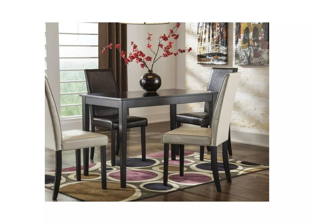 Kimonte Rectangular Dining Room Table Wood/Brown - Signature Design by Ashley ELG2123
