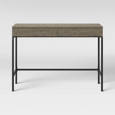 Loring Wood Writing Desk with Drawers - Project 62™ EB2723