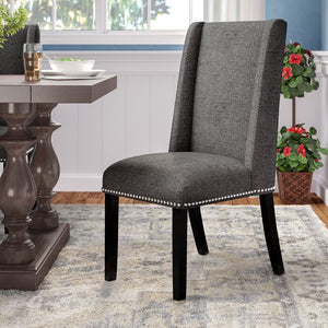 Gray-Galewood Wood Leg Upholstered Dining Chair  #5200
