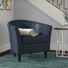 Load image into Gallery viewer, Gaynell Barrel Chair BLUE #6158