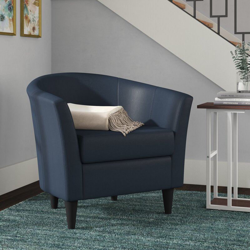 Gaynell Barrel Chair BLUE #6158