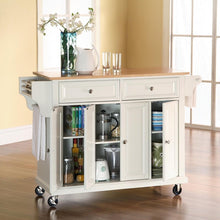 Load image into Gallery viewer, Hedon Kitchen Cart with WHITE TOP