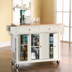 Hedon Kitchen Cart with WHITE TOP