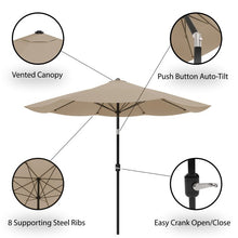 Load image into Gallery viewer, Kelton 10' Market Umbrella  #5203