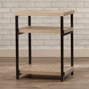 Landis End Table with Storage