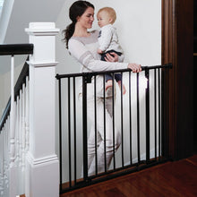 Load image into Gallery viewer, Black Safespace Wooden Safety Gate  #5220