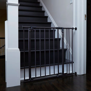 Black Safespace Wooden Safety Gate  #5220