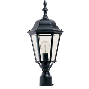 Black Listermann Cast Outdoor 1-Light Lantern Head  #5038