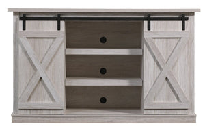 "Lorraine TV Stand for TVs up to 60"" in Sargent Oak/White Wash Grey  #4167"