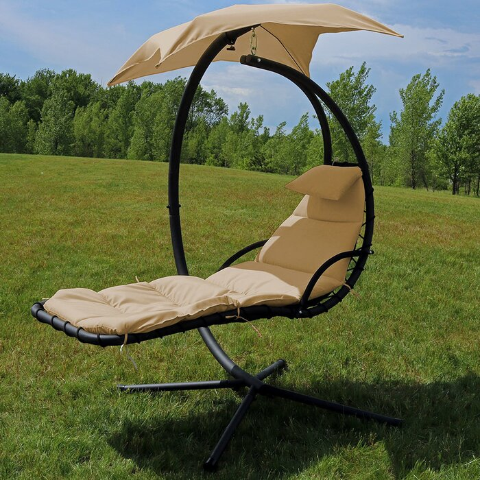 Macie Hanging Chaise Lounger with Stand #563