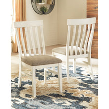 Load image into Gallery viewer, Set of 2 Mackinnon Slat Back Side Chair in White       #ta1189