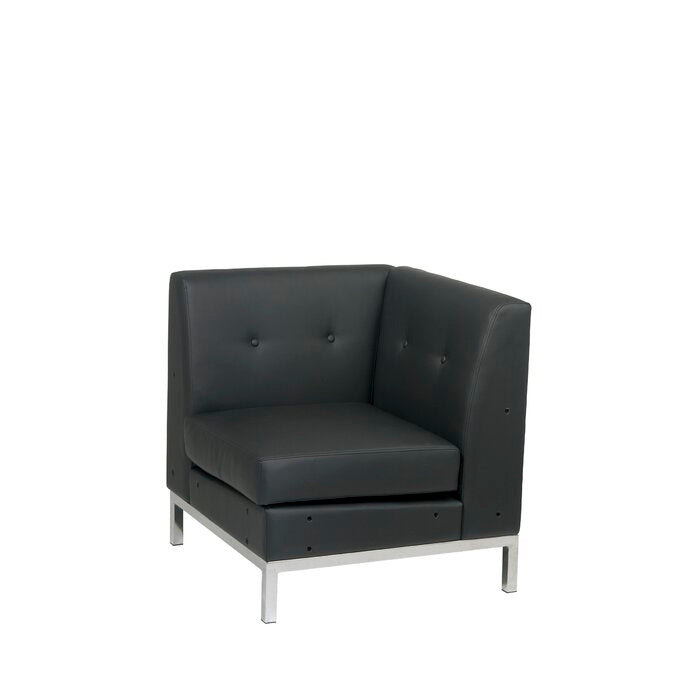 Mapleton Corner Guest Chair (black) #5005