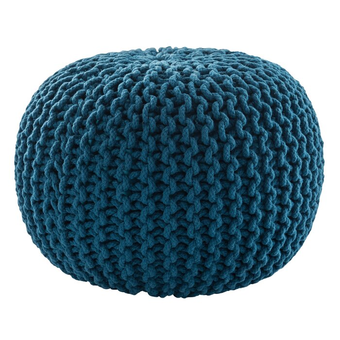 Mcvicker Pouf in Blue  #4255