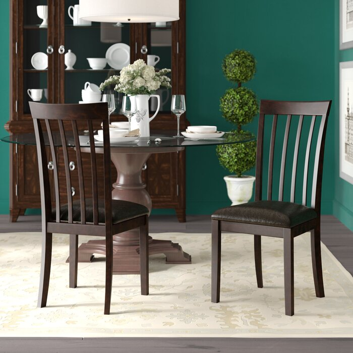 Milton Solid Wood Dining Chair (set of two) #6229