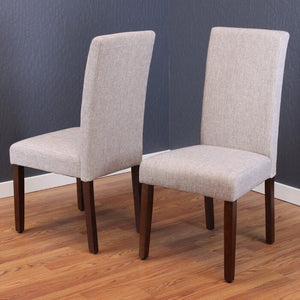 Moseley Upholstered Dining Chair In Beige Sand (Set of 2) #6086