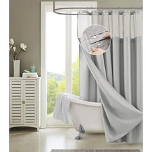 Load image into Gallery viewer, Nala 2 Piece Solid Color Shower Curtain Set EB2996