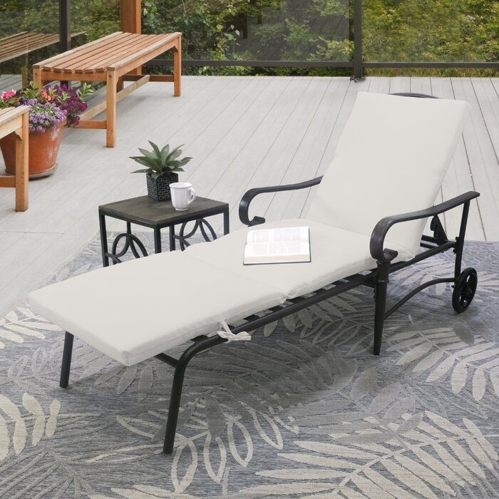 Outdoor Chaise Lounge Cushion #6197