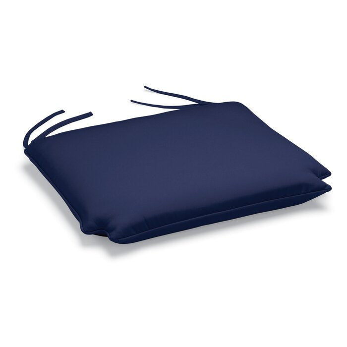 (1) Indoor/Outdoor Sunbrella Dining Chair Cushion in Navy #4054