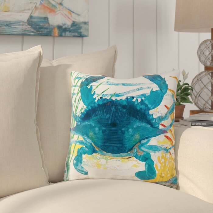 (Set of 2)Winford Coastal Indoor / Outdoor Throw Pillow  #5381