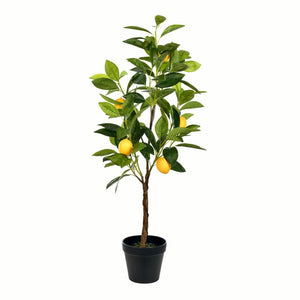 Real Touch Leaves Lemon Tree in Pot 3306