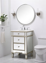 "Load image into Gallery viewer, Reinhart 24"" Single Bathroom Vanity"