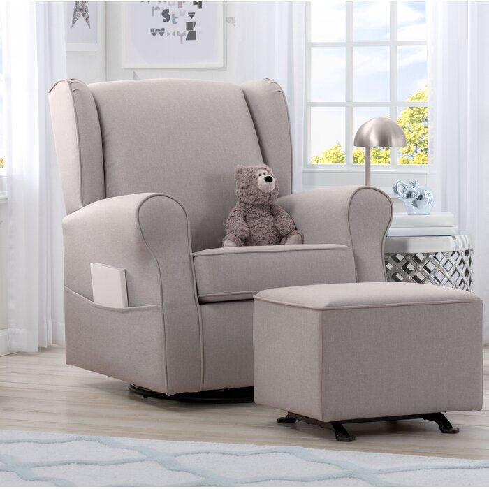 Reston Swivel Glider FRENCH GREY #6216